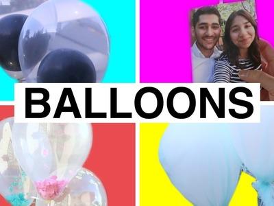 4 Creative Balloon Decorating Ideas