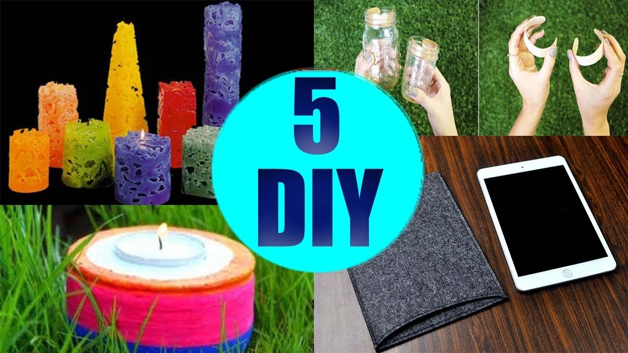 5 Crafts To Do When You're BORED! 5 Quick and Easy DIY Ideas! Amazing DIYs & Crafts Hacks!