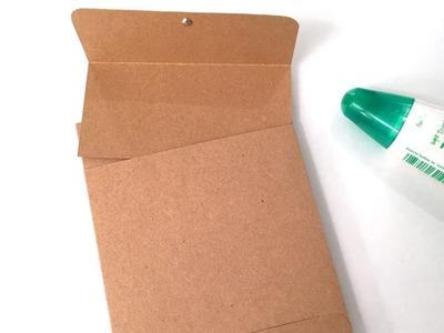 #5 Folio Card: Clasp Envelope