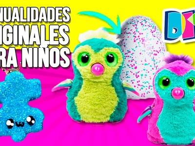 5 Weird DIY's * MaANUALIDADES originales para NIÑOS ✅  Top Tips & Tricks en 1 minuto