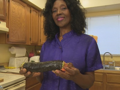 73 Years Young Annette Larkins Vegan Sushi Roll and Pâté Recipe