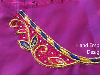 Aari work designs || hand embroidery designs || hand embroidery designs for beginners
