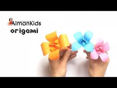 AlmanKids Origami | Giglio di Carta | Lirio de Papel | Lily Flower