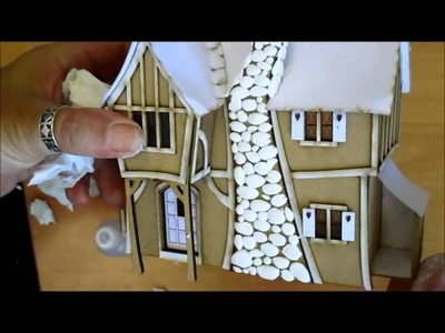 Altered Miniature Pumpkin Cottage Tutorial - Part 1 - jennings644