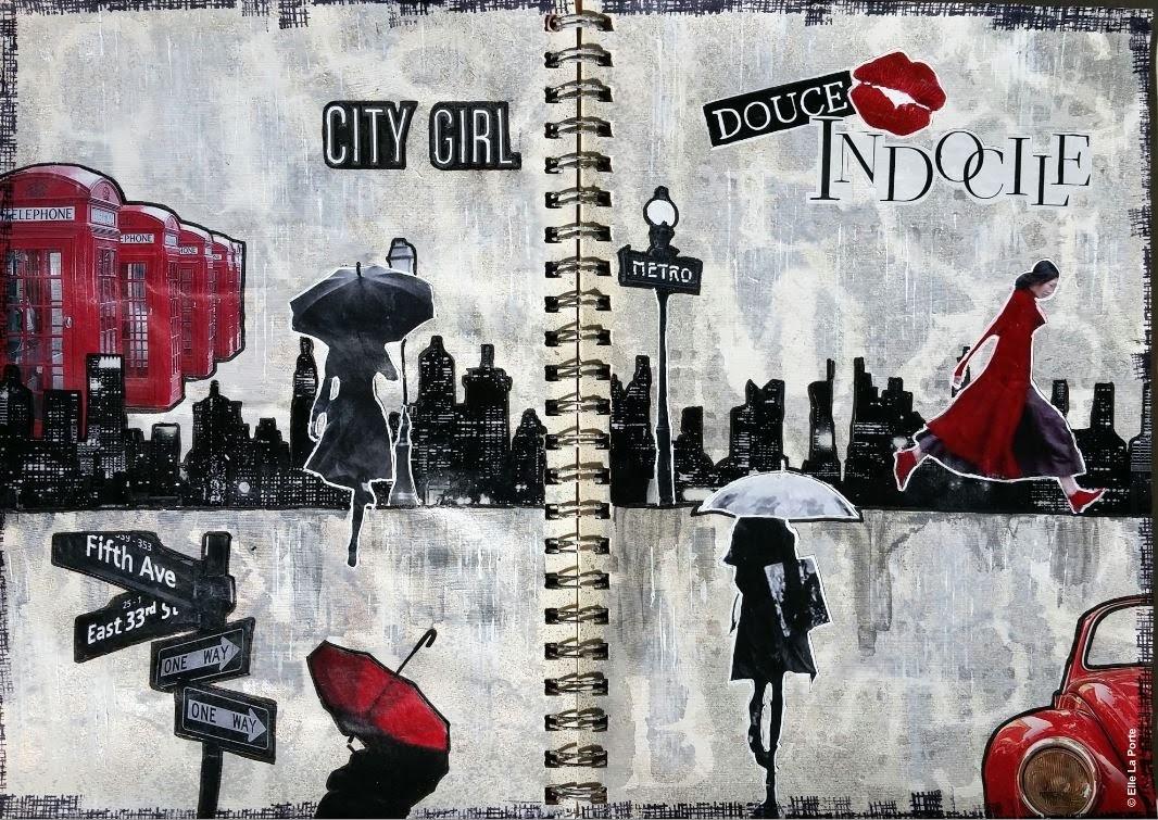 Art Journal #2 : City Girl