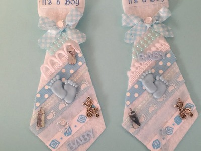 Baby Shower Father to Be Felt Tie