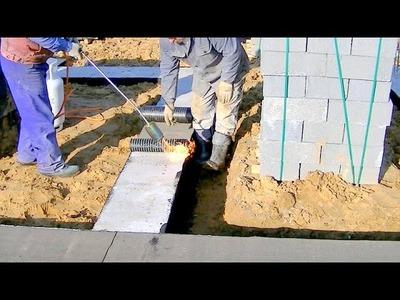 Construction d'une maison unifamiliale. Full HD. 5ème épisode. Fondation d'isolation