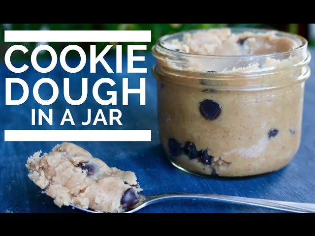 COOKIE DOUGH IN A JAR | Vegan and Simple!