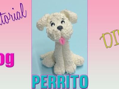 DIY little dog cold porcelain. perrito sencillo porcelana fría parte 3