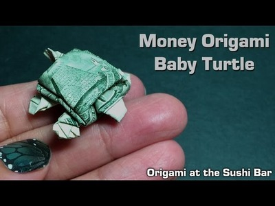 Dollar Origami Turtle (Instructions) Dollar Bill Origami, Moneygami