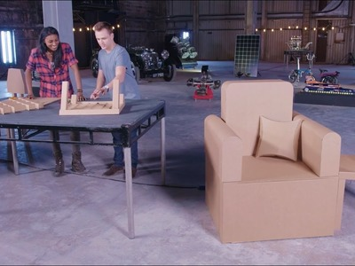 Educational Activities for Kids: Cardboard Chair