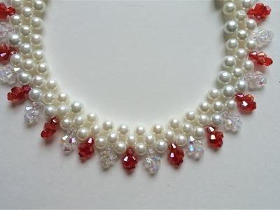 Elegant necklace -Inspiration DIY Jewelry Project