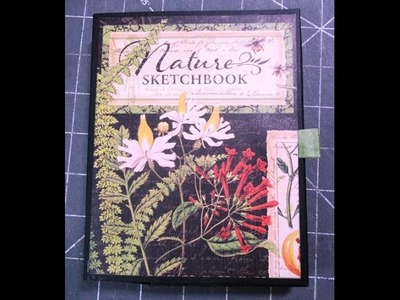G45 Nature's Sketchbook Note Cards Boxed Set Tutorial #1