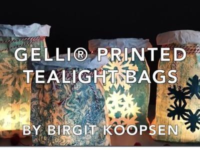 Gelli Arts® Printed Tealight Bags