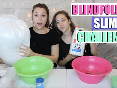 "GIANT BLINDFOLDED SLIME CHALLENGE WITH MY SISTER?!???????? + HUGE ""I'M SORRY"" GIVEAWAY"