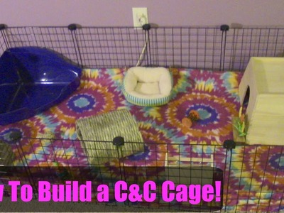 How To Build A C&C Cage For Guinea Pigs