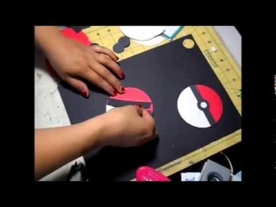 How to create a paper pokemon ball and other Pokemon party ideas