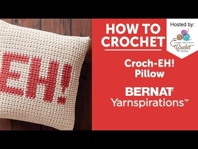 How to Crochet a Pillow: Croch-EH! Pillow