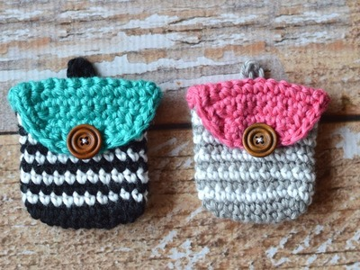 How to Crochet a Striped Coin Purse