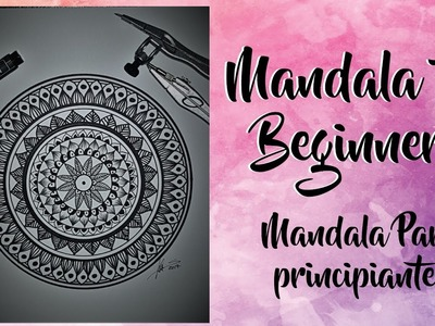 HOW TO DRAW | Mandala for Beginners Step by Step. | Mandala para principiantes Paso a Paso.