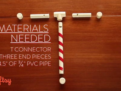 How to Make a Candy Cane Whistle With PVC Pipe | Toymaker Paul Schuller