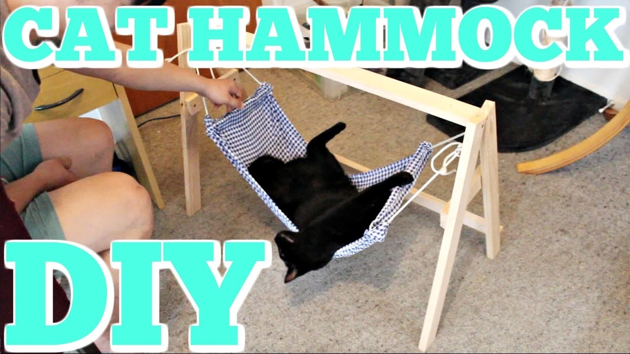 How to Make a CAT HAMMOCK!