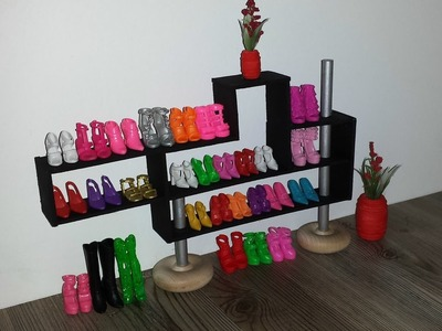 How to make a Doll Shoe Rack