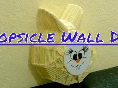 How to Make a Ice Cream Stick Wall Craft || Popsicle Stick Craft || Ice Cream Stick Craft