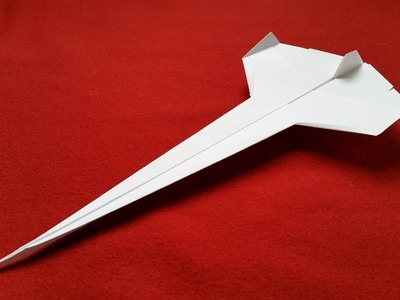 How to make a Paper Airplane - Best Paper Plane that Flies FAR - Jet
