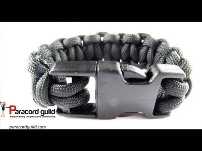 How to make a paracord bracelet with a buckle