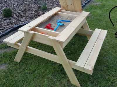 How To Make a Sandbox Picnic Table