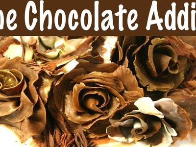 How to Make an Exquisite Chocolate Rose with Modeling Chocolate {re post}