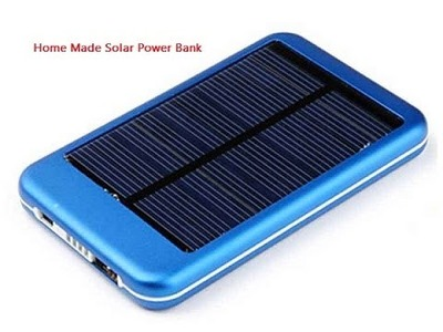 How To Make Homemade Solar Power Bank