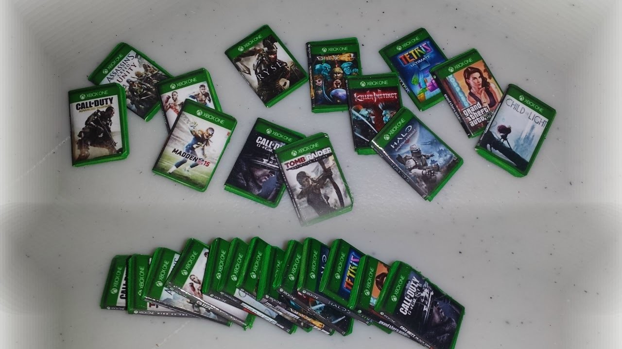 How to make Mini XBox Games