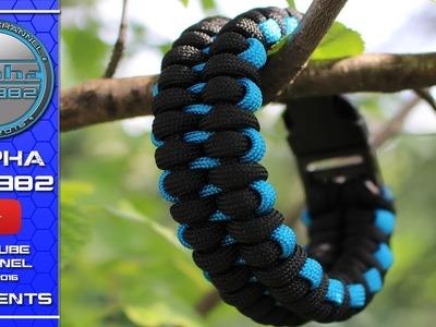 How To Make Paracord Bracelet Borneo