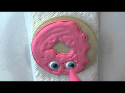 How to Make Shopkins Cookies - D'Lish Donut by Emma's Sweets