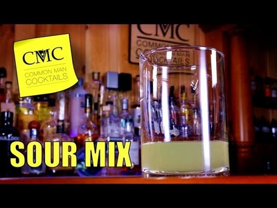 ???? How To Make Sour Mix | Bartending 101