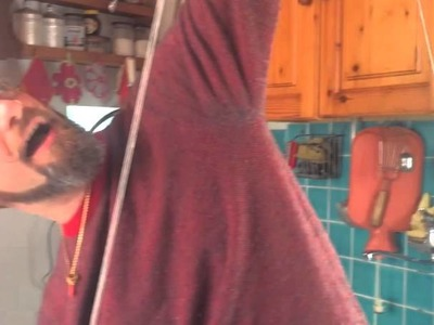 How to navajo ply with a spindle