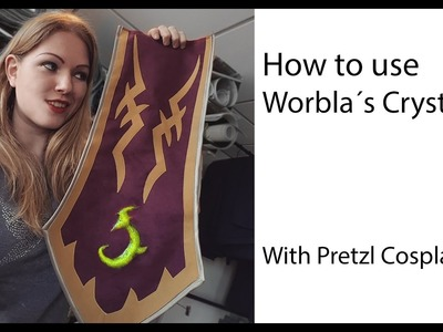 How to use Worbla's Crystal Art - Cosplay tutorial