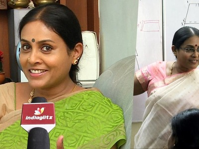 I dont want to make money out of my passion - Saranya Ponvannan's Interview | Fashion Technology