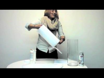 Icy Crystal Vase- DIY by Christine S. Chang