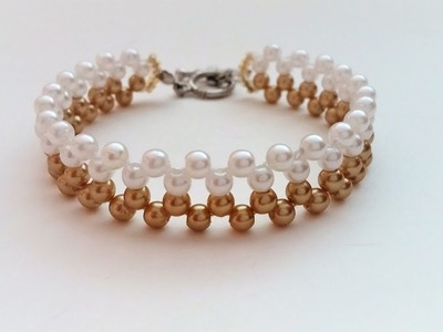 Jewelry gift idea-How to make an easy bracelet in just 10 minutes