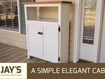 Making A Simple Elegant Cabinet - 233