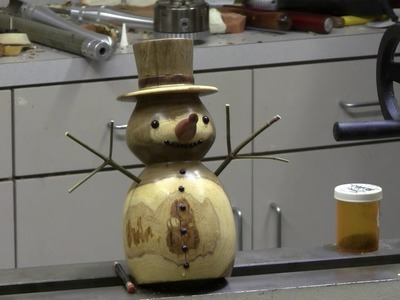 Making a Snowman on the Lathe - Part 2
