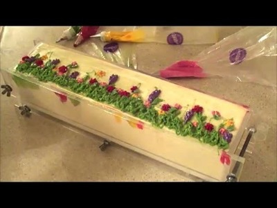 Making and Cutting Wildflower Cold Process Soap
