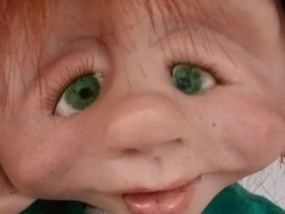 Making Eyes for Clay Models and Dolls