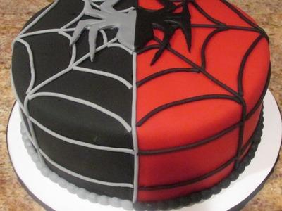 Marvel Spiderman cake