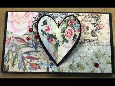 Mini Album Heart Lock ~ Card?