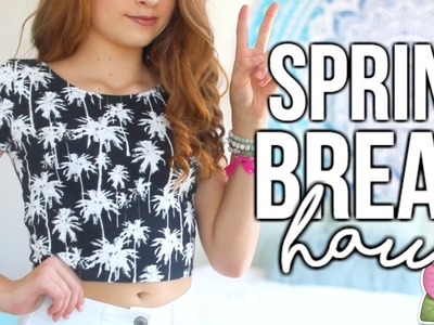 My Spring Break Clothing Haul 2017!