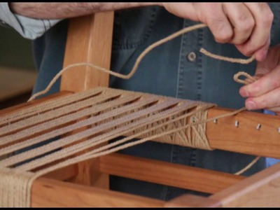OnlineEXTRA: My First Chair - Weaving Lesson